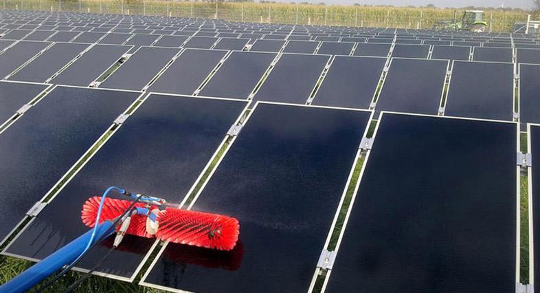 Spalarea panourilor fotovoltaice