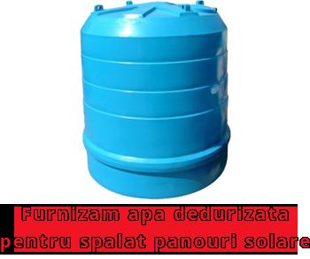 Furnizam apa pentru spalat panourile solare